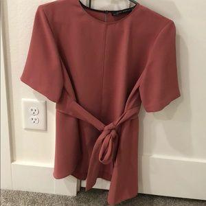 Blush Small Zara top